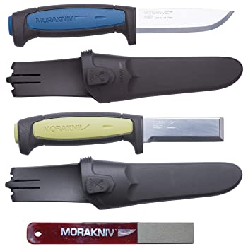 Morakniv Craft Knife Set, Pro S Cuchillo, Chisel Cincel ...