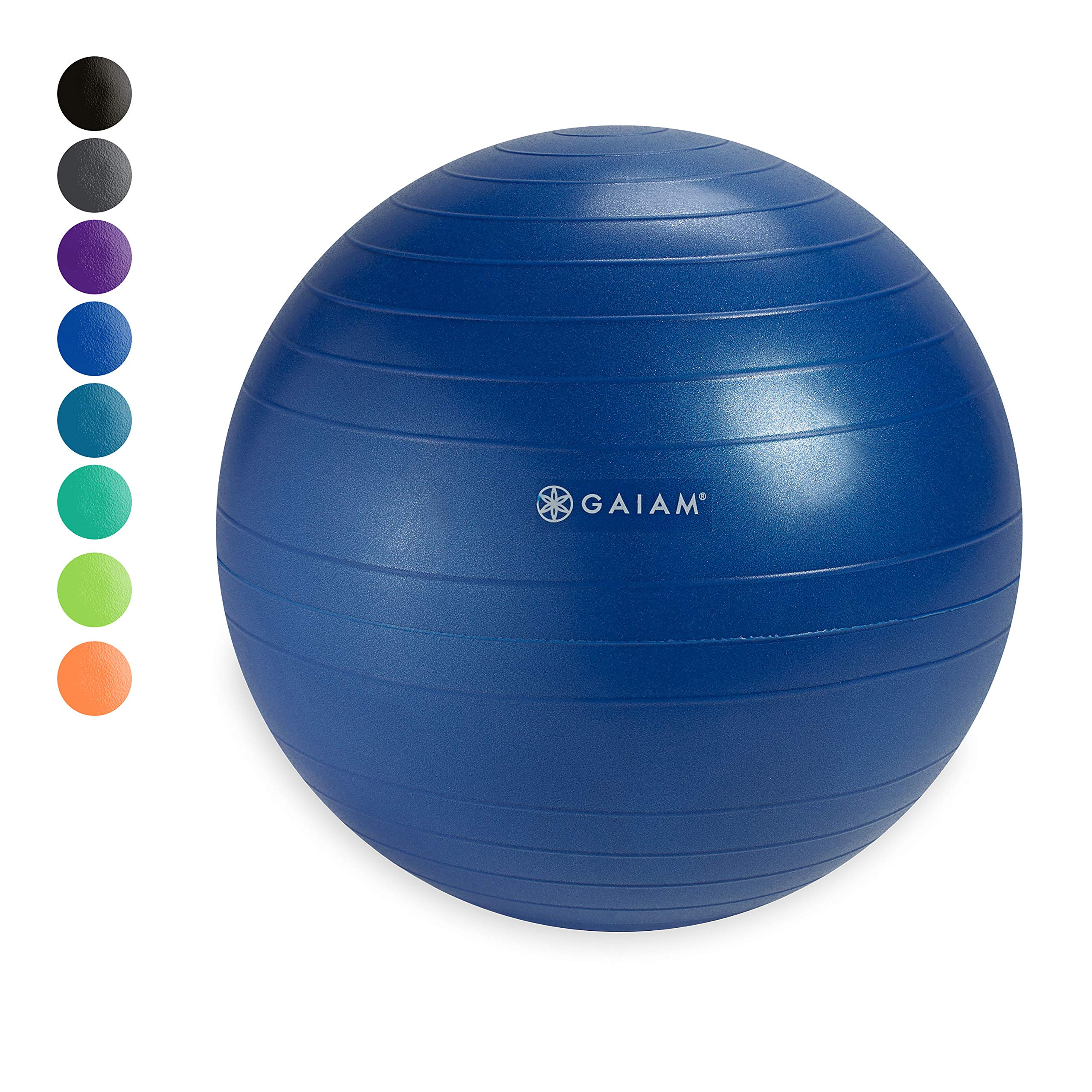 Gaiam Classic Balance Ball Chair Ball - Extra 52cm Balance Ball for Classic Balance Ball Chairs, Blue