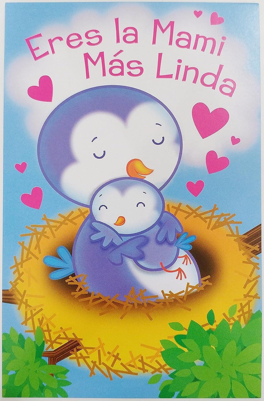 Amazon.com : Eres la Mami Mas Linda - Feliz Cumpleanos ...