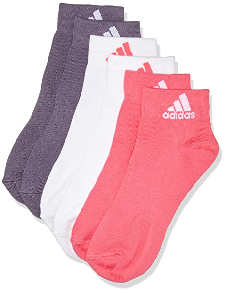 adidas per Ankle T 3pp Calcetines, Unisex Adulto