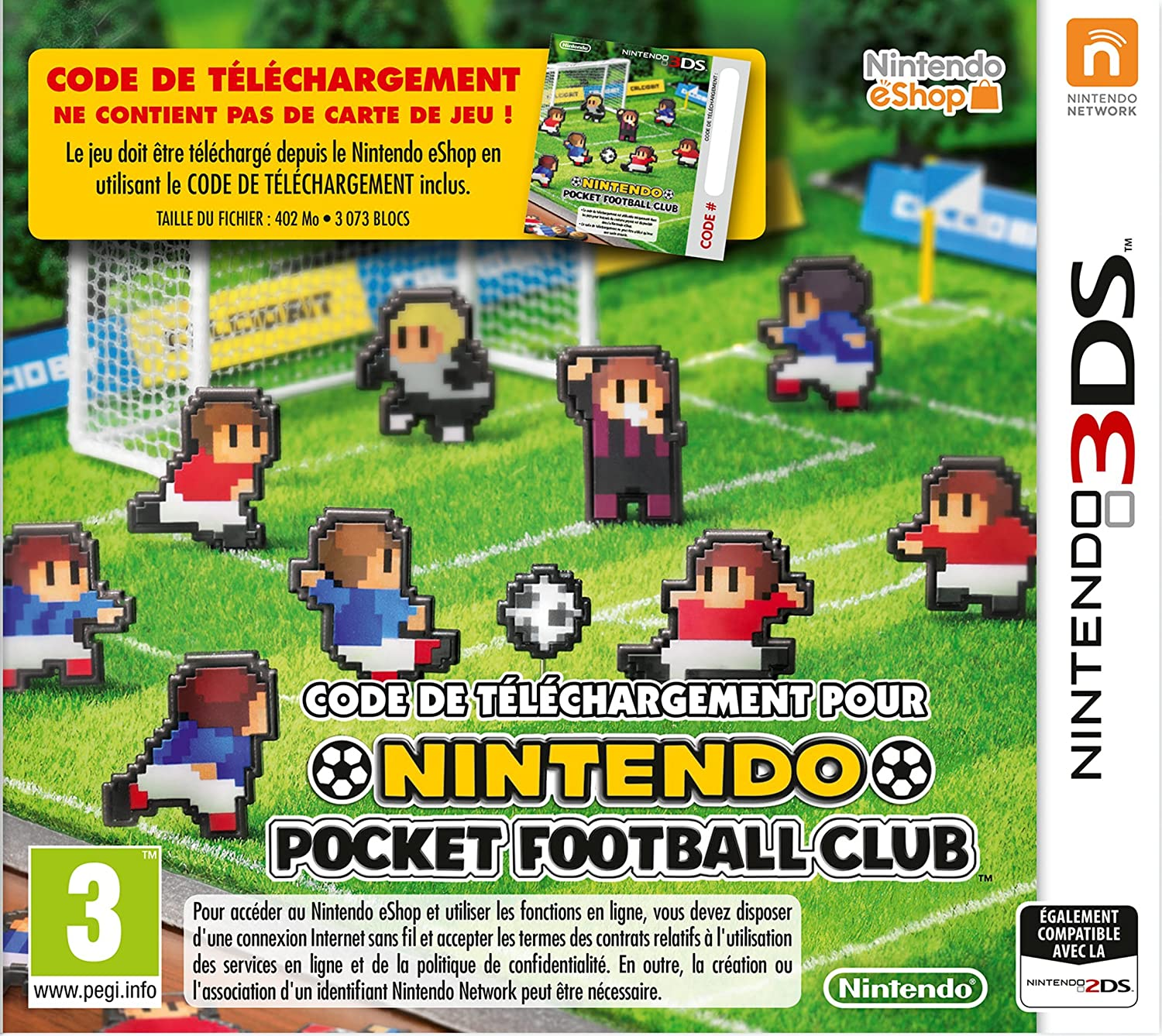 Carte Nintendo Pocket Football Club: Amazon.fr: Jeux vidéo