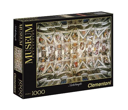 4 opinioni per Clementoni Puzzle 39225- 1000 pz Panorama- Volta della Cappella Sistina- Vatican