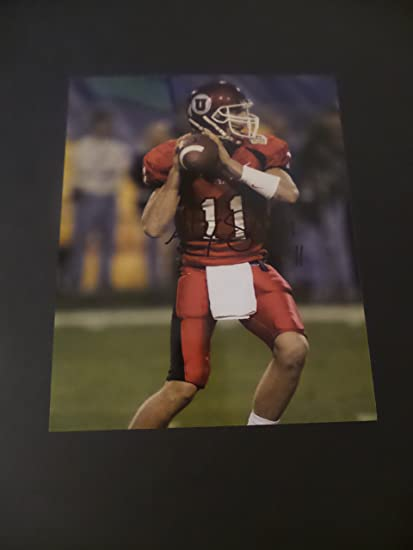 huge discount 7a75f f0110 Alex Smith Signed Utah Utes Autographed 8x10 Photograph at ...