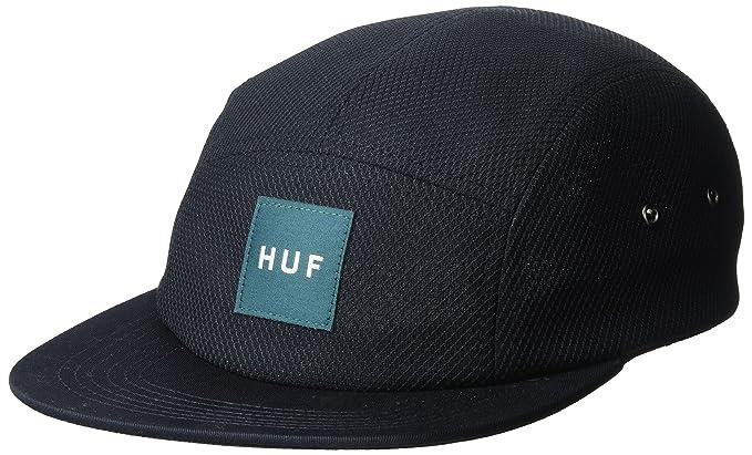 HUF Hombre HT00076 Gorra de béisbol - Negro - Talla única: Amazon ...