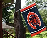 XIFAN Chicago Bears 3x5 Foot Polyester Flag - Vivid Color and Double Stitched - Super Bowl Banner with Brass Grommets 3 X 5 FT