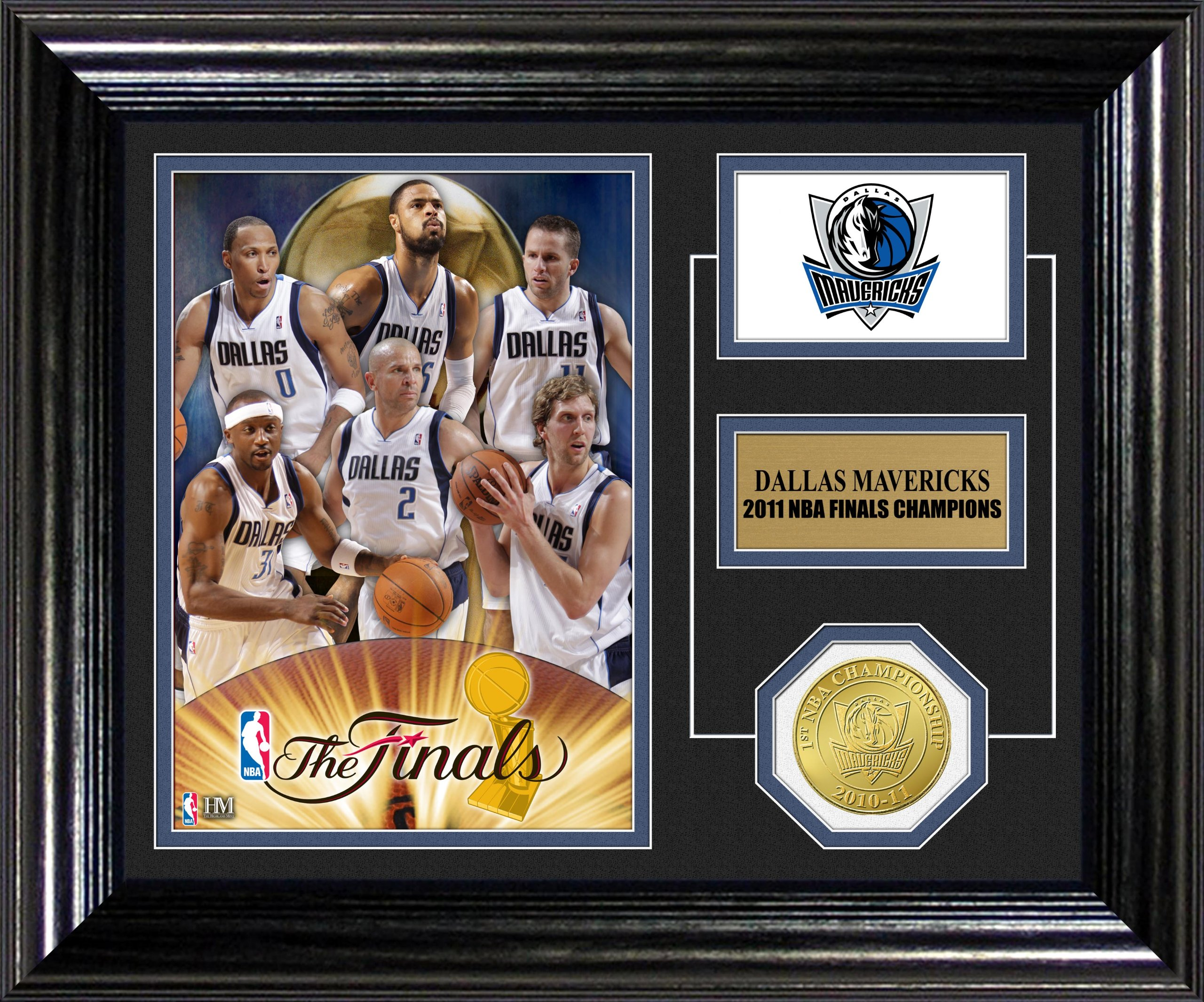 NBA 2011 Champions Desk Top Photo Mint