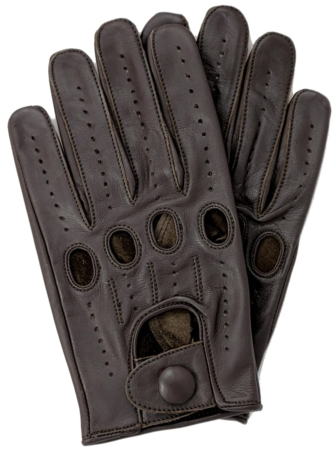 Mens leather kid gloves - Riparo Genuine Leather Full Finger Driving Gloves Amazon Ca Sports Outdoors