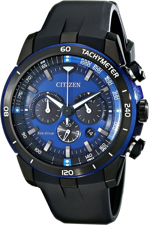 Citizen Men s Black Strap Ecosphere Watch