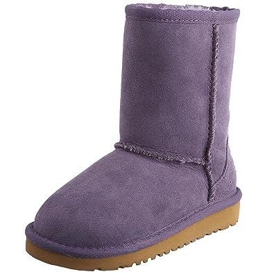 Ugg Classic (Toddler Sz 9) Purple SageUK 8: Amazon.co.uk