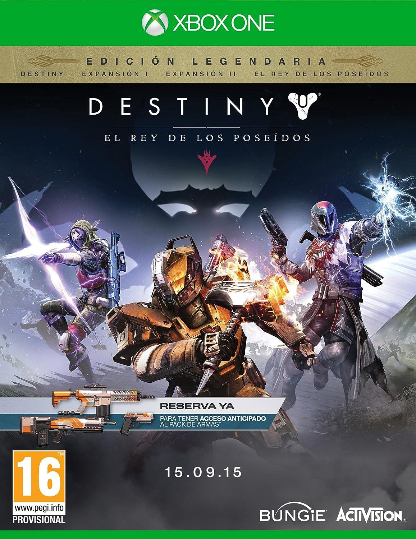 Destiny: El Rey De Los Poseídos - Edición Legendaria: Amazon.es ...