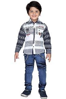 91085f43fa AJ DEZINES Boy's Cotton Party Wear Clothing Set: Amazon.in: Clothing ...