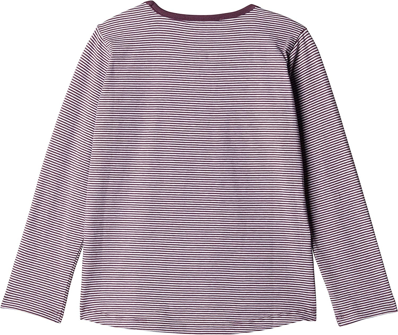 Steiff T-Shirt Langarm Maglia a Maniche Lunghe Bambina
