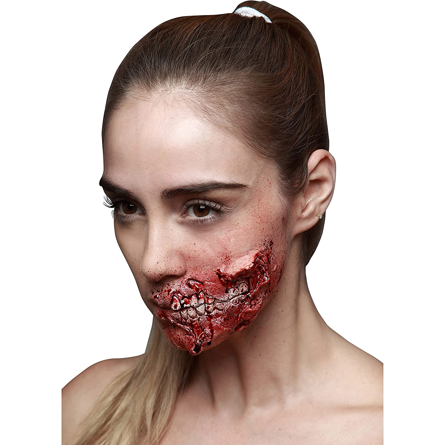 Viving Costumes Viving Costumes204518 Latex Zombie Wound (One Size)