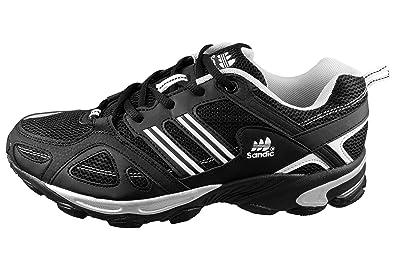 LEKANN Herren Traillaufschuhe   Laufschuhe Atmungsaktive für Freizeit    Fitness, Schwarz Weiß, ... a5844458d1
