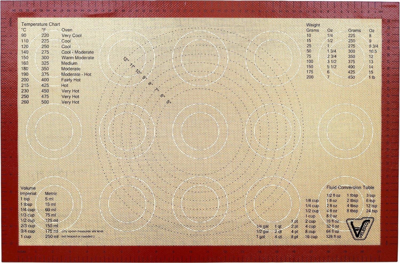 Large Bpa Free Professional Grad Non Stick Sheet Mat Details about  /Silicone Baking Mats