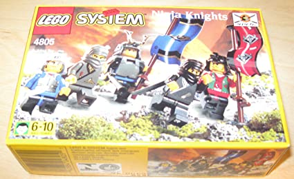 LEGO SYSTEM - Ninja Knights #4805 (1999) by LEGO: Amazon.es ...