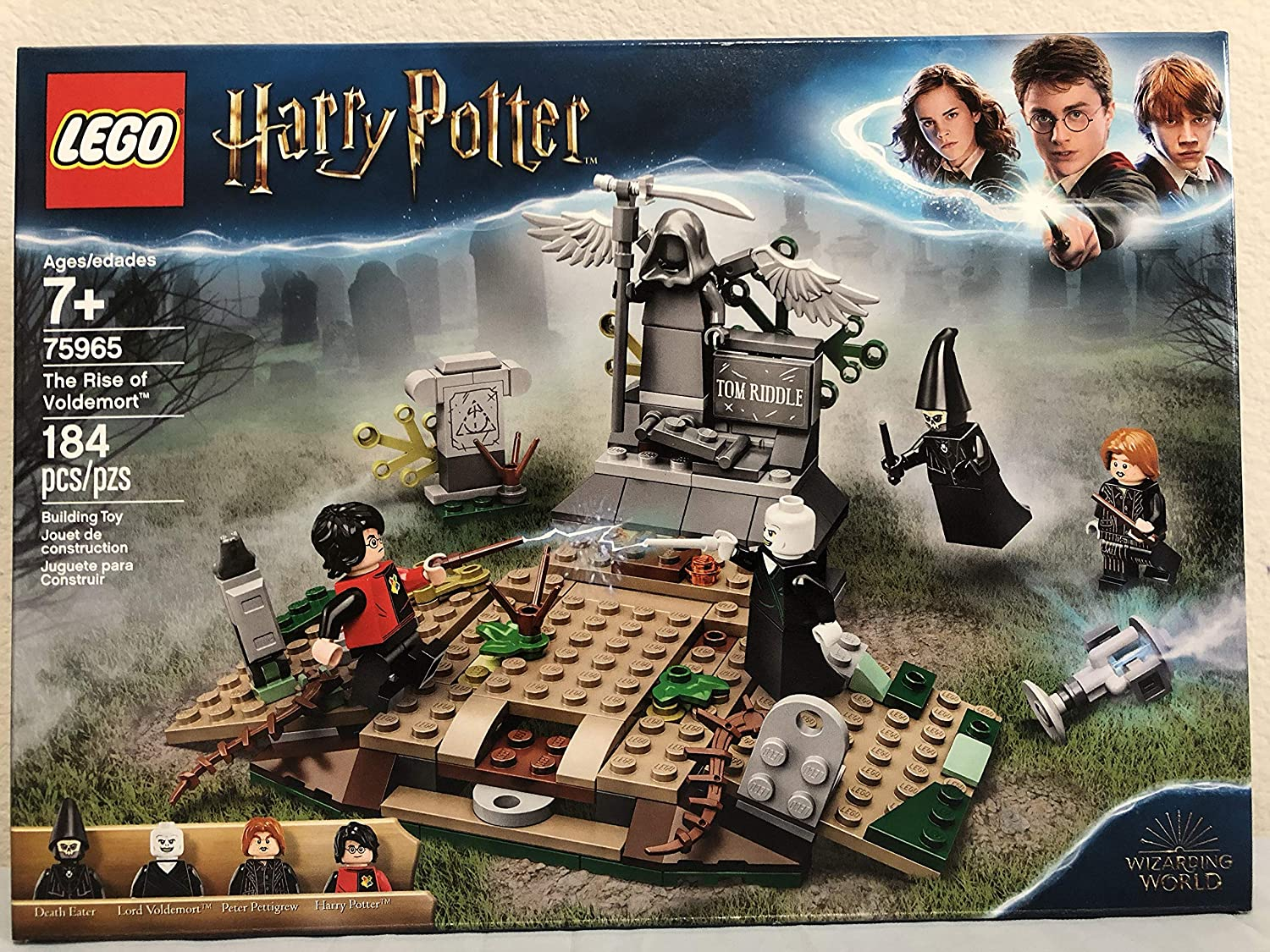 LEGO Harry Potter The Rise of Voldemort Bundled Harry Potter Expecto Patronum