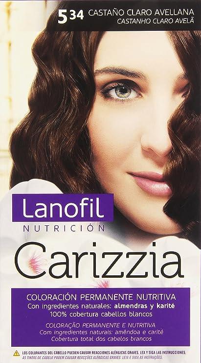 Revlon Lanofil Carizzia Tinte - Cuidado capilar, color 5,34 ...