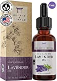 100% Pure Therapeutic Grade Lavender Essential Oil Premium 4oz. Orchid and Temple is Made in The USA. Undiluted Lavendula Angustifolia - Calming, Headache Relief, Sleep Aid