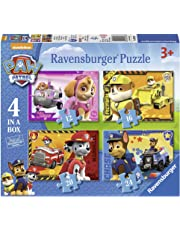 Ravensburger UK 7033 Paw Patrol 4-in-1 Jigsaw Puzzles, Multicoloured