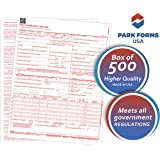 "NEW HCFA (Version 02/12) CMS 1500 Claim Forms, Health Insurance, (500 Sheets) Laser Cut Sheet, Medical and Insurance forms , Higher Quality - 8-1/2"" X 11"""