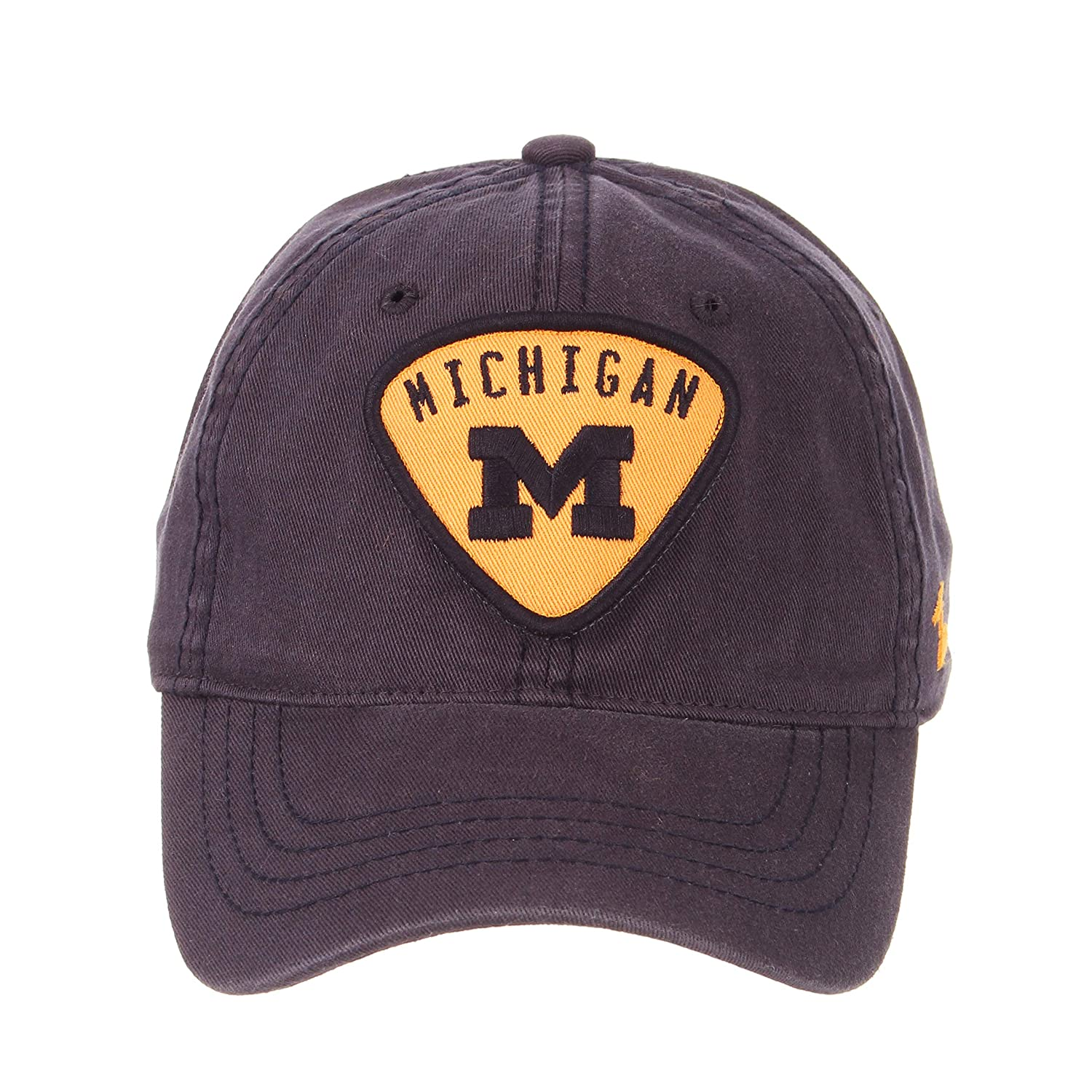 separation shoes 22e31 0f88d Amazon.com   Michigan Wolverines Official NCAA Strummer Adjustable Hat Cap  by Zephyr 750452   Sports   Outdoors