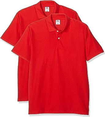 Fruit of the Loom Original Polo Camisa para Hombre: Amazon.es: Ropa y accesorios