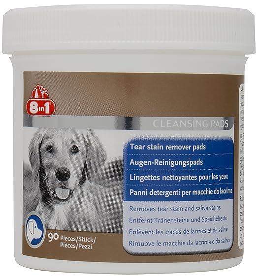 8in1 Augen-Reinigungspads (für eine wirkungsvolle und schonende Reinigung, speziell für die Augenhygiene bei Hunden entwickel