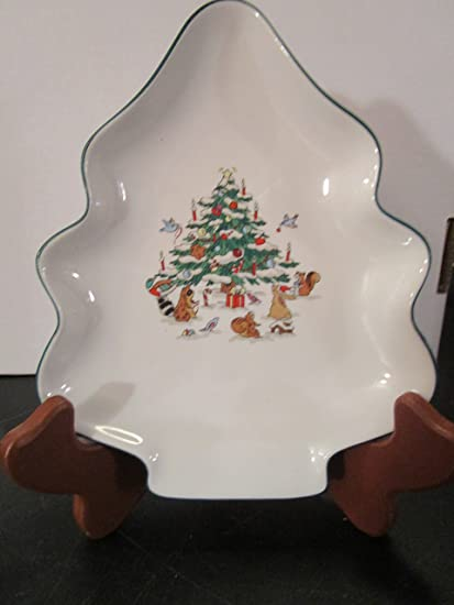 ming pao woodland christmas candy dish - Christmas Candy Dishes