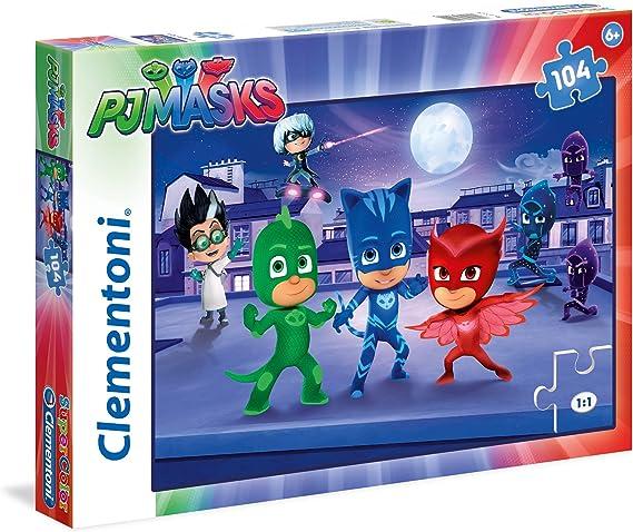 Clementoni- PJ Masks e Romeo Supercolor Puzzle, Multicolor ...