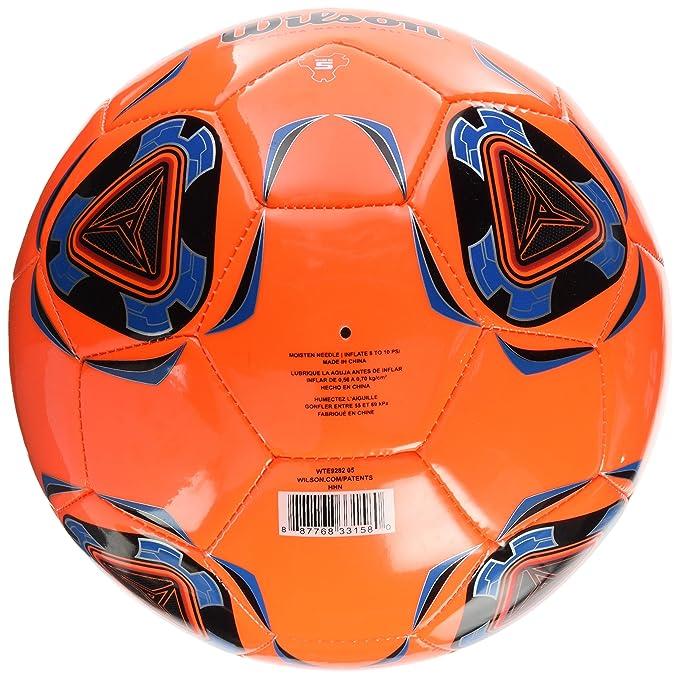 Wilson Copia II Pelota De Fútbol, Unisex Adulto, Orange/Blue, Talla Única: Amazon.es: Deportes y aire libre
