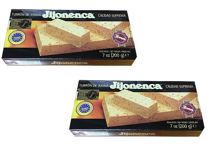 Jijonenca - Pack de 2 Turron de Jijona, Turron blando de almendra - Calidad superior