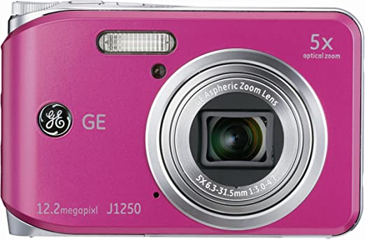 Ge General Electric J1250 Digitalkamera 2 7 Zoll Pink Kamera
