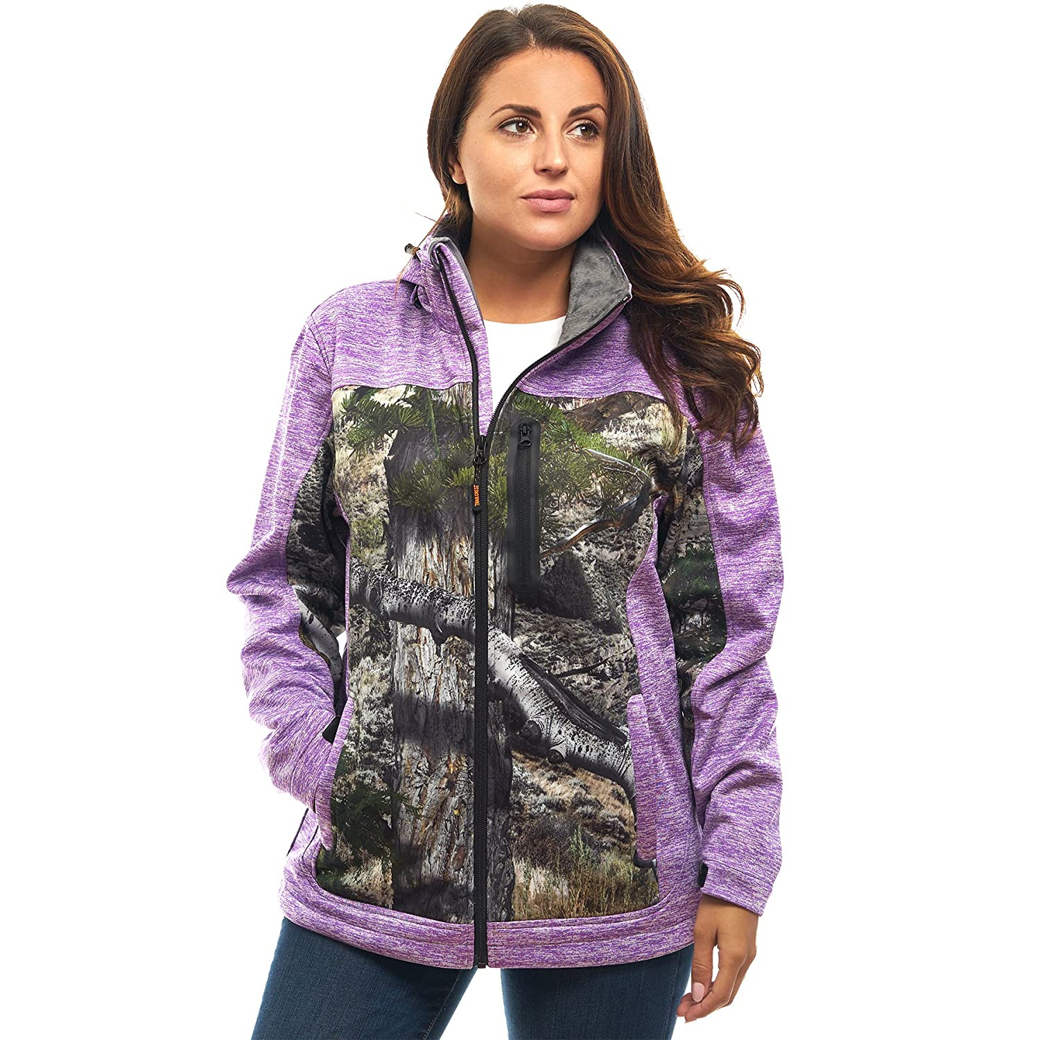 TrailCrest OUTERWEAR レディース B0749BHMGT XL|Purple Heather Mountain CountryTM Purple Heather Mountain CountryTM XL