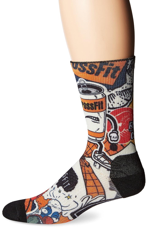 Reebok Men's CrossFit Crew Socks REON9 ABMNS16007-P