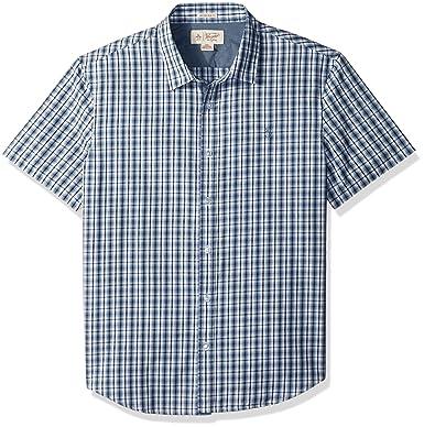 735f469d374 Amazon.com  Original Penguin Men s Short Sleeve Check Shirt  Clothing