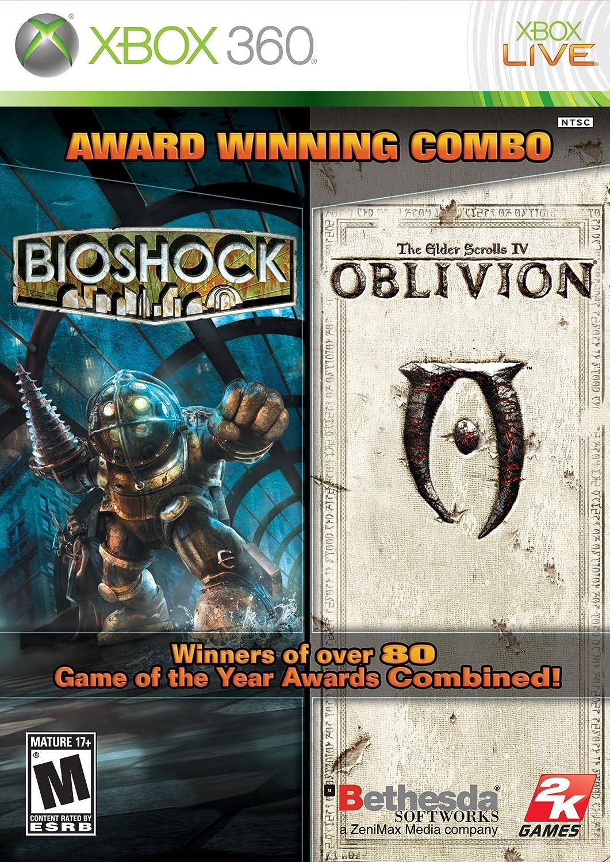 amazon com bioshock and elder scrolls oblivion bundle pc video rh amazon com oblivion game manual pc Oblivion PC Console Commands