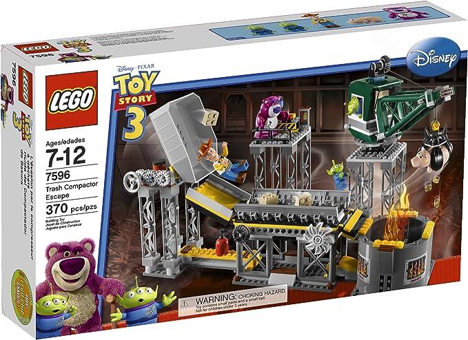 Lego Disney Toy Story 7596  Lotso  Bear  MiniFigure  Figure Magenta  BRAND NEW
