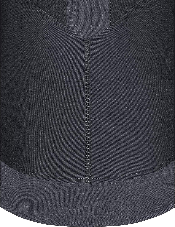 GORE WEAR R3 Ladies long sleeve shirt Partial GORE WINDSTOPPER black/terra grey