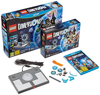 LEGO Dimensions: Starter Pack (Nintendo Wii U): Amazon co uk