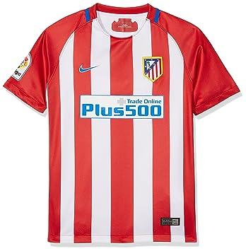 Nike ATM Y NK Dry Stad JSY SS HM, Camiseta Unisex para Niño, Rojo