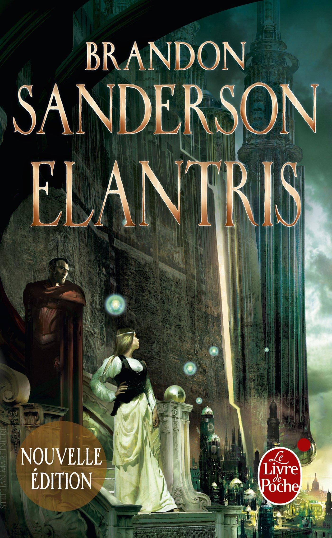 couverture du livre Elantris