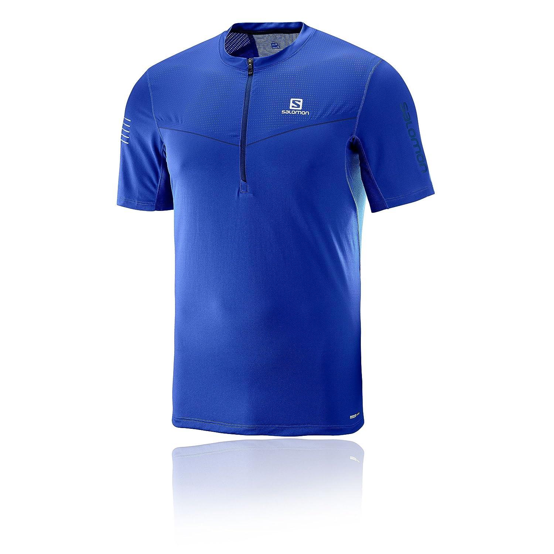 Salomon Fast Wing HZ SS tee M - Camiseta, Hombre, Blanco - ( L39699900