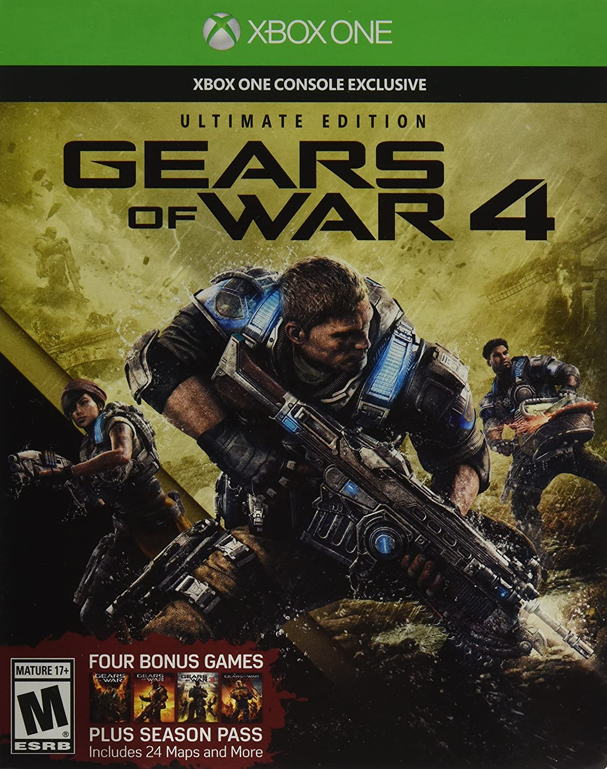 Amazon com: Gears of War 4: Ultimate Edition (Includes