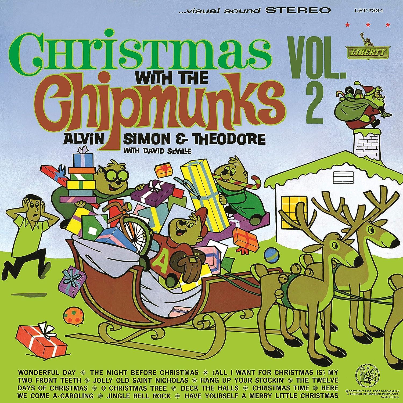 The Chipmunks - Christmas With The Chipmunks Vol.2 [LP][White ...