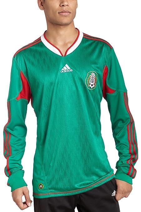 87c9cbd202e13 México manga larga Home Soccer Jersey