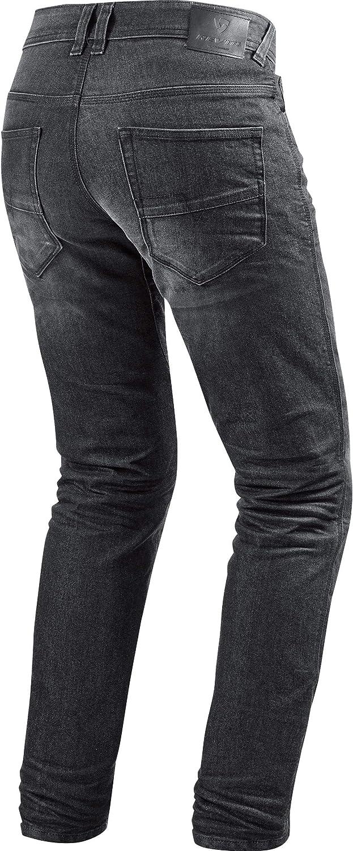 Chopper//Cruiser Textil Herren REVIT Sommer Motorrad Jeans Motorradhose Motorradjeans Vendome 2 RF Jeanshose