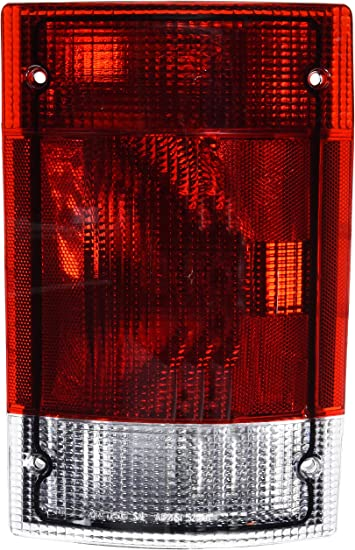 TYC 11-5007-80-1 Ford Right Replacement Tail Lamp
