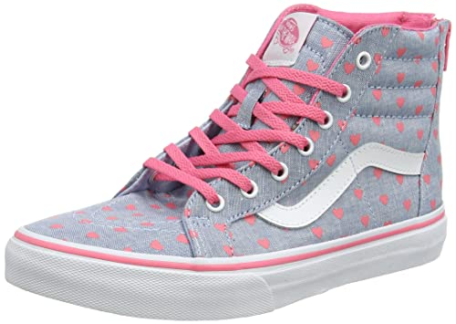 497d997809 Vans Girls  UY SK8-Hi Zip Hi-Top Sneakers