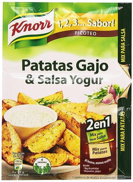 Sabor Mix para Hacer Patatas Gajo & Salsa Yogur